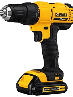 dewalt 20v, drill driver, lithium ion drill
