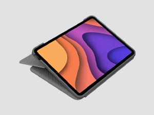 Logitech Folio Touch iPad funda teclado con tecnología táctil Trackpad y con conexión instantánea Smart Connector iPad Air (4ª gen, Model: ...