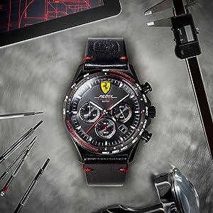 Scuderia Ferrari Unisex Quartz Watch With 830518 Amazon De Uhren