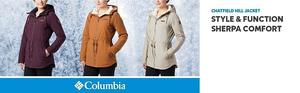 Columbia Women's Chatfield Hill Fleece lined Jacket