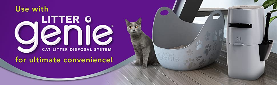 Amazon Com Litter Genie Cat Litter Box Pet Supplies