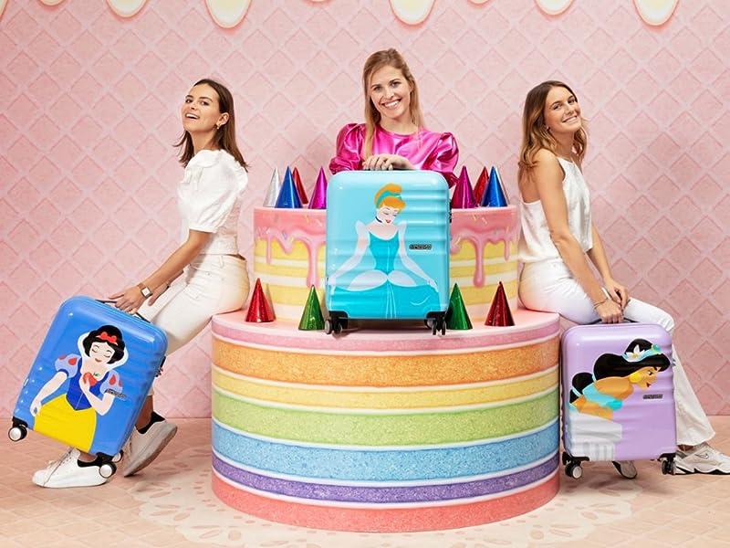 wavebreaker disney; american tourister; travel; luggage; princess; snow white; cinderella; jasmin