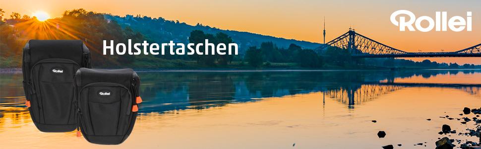 Rollei Fotoliner Holstertasche M Hochwertige Und Kamera