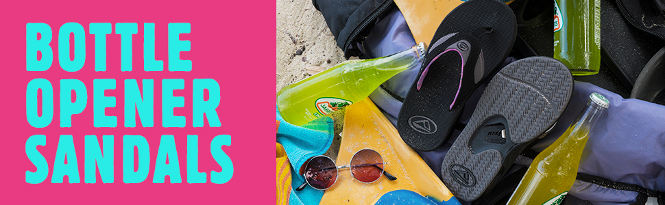 REEF, Womens, bottle opener, sandals, beach