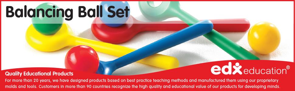 Edx Education Balancing Ball Set Set of 4