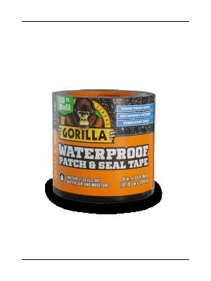 Amazon Com Gorilla 4612502 Waterproof Patch Amp Seal Tape 4 Quot X 10 Black 1 Pack