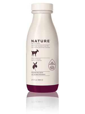 nature goat milk soap, canus by nature goat milk soap, foaming milk bath,