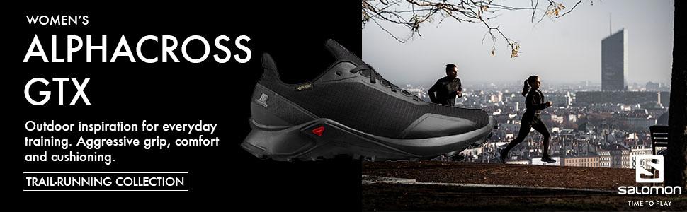 SALOMON Alphacross GTX W Chaussures de Trail Femme