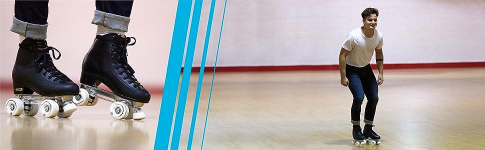 Roller Derby Cruze XR Hightop skates for the rink