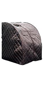 portable sauna, small sauna, sauna-in-a-bag, sauna dome, low emf sauna, sauna tent, harmony