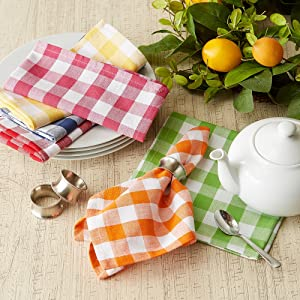 checkered decorations paper kitchen farmhouse blue fall runners placemats christmas rug cotton cover
