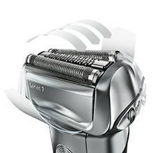 Braun Series 7 7898cc Men's Electric Foil Shaver, Wet and Dry with Clean and Charge Station