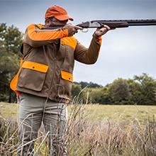 shoulder pads, upland hunting