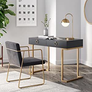 computer-desk home-office wooden-table work-space ikea-furniture simple-design rectangular writing