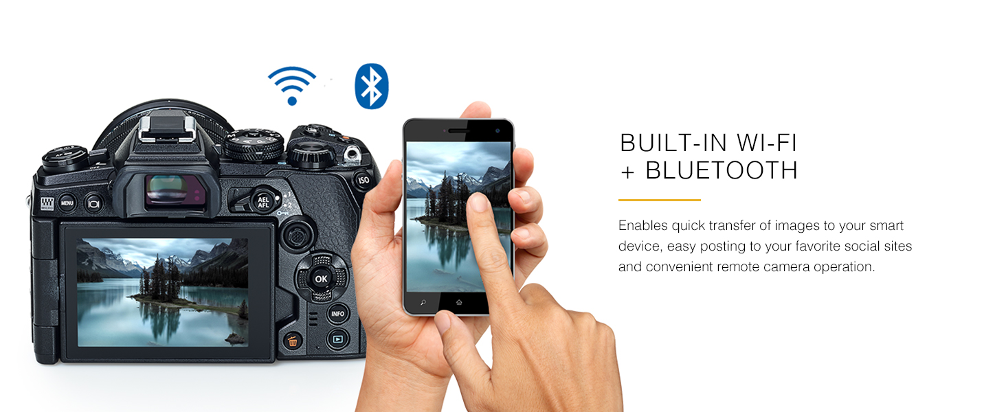 Built-In Wi-Fi and Bluetooth