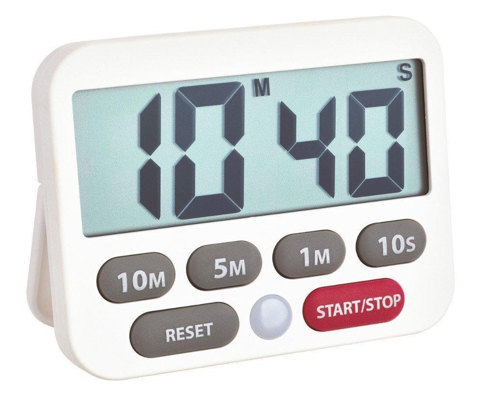 mit Stoppuhr TFA Dostmann 38.2021 großes ... Memory-Funktion Digitaler Timer