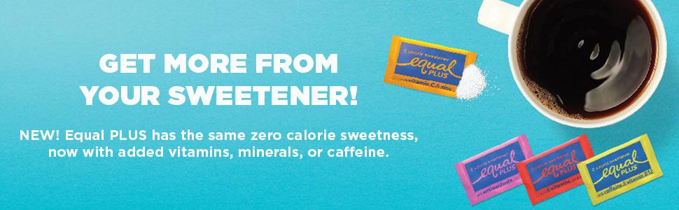 Equal Plus Sweeteners