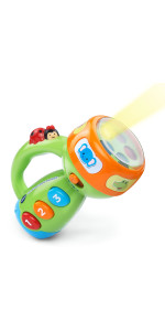 VTech Spin and Learn Color Flashlight- Lime Green