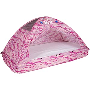 camouflage bed tent kids army pink