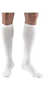 15-20 mmHg Compression Knee High Dress Style Socks ...