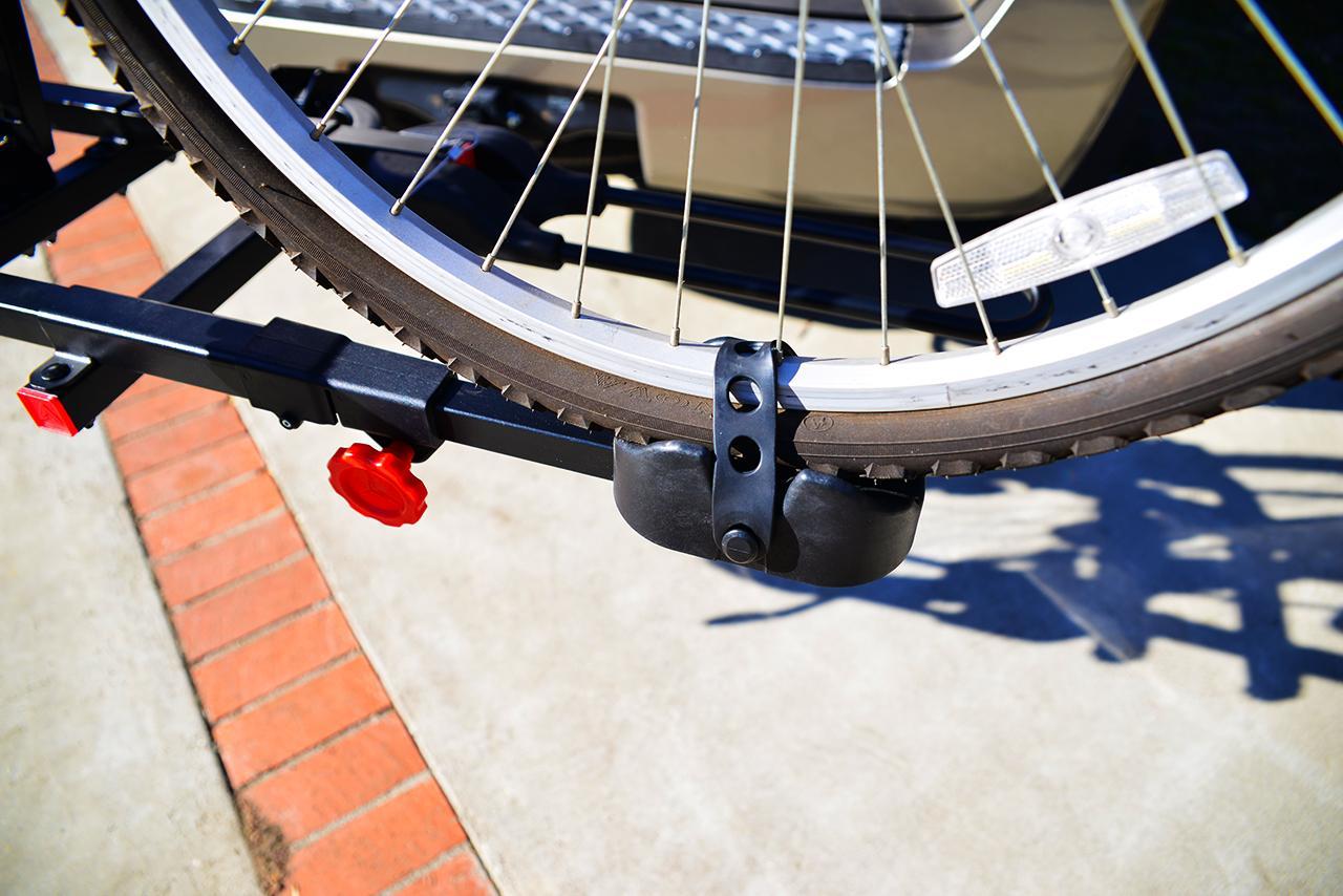 amazoncom allen sports easy load deluxe  bike hitch rack black sports outdoors