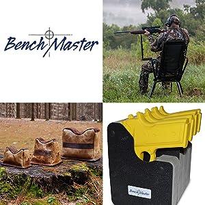 BenchMaster Rest WeaponRac Eight Gun Vertical Pistol Rack BMWRM148 Gun Rack
