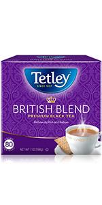 classic black decaf hot tea