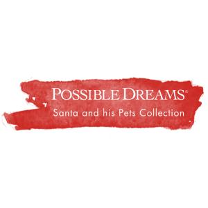 Possible Dreams Santa and his Pets Logo