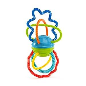 オーボール Oball クリキッティツイスト ベビートイ 赤ちゃん玩具 ラトル 歯固め はじめてのおもちゃ 出産祝い ベビーギフト
