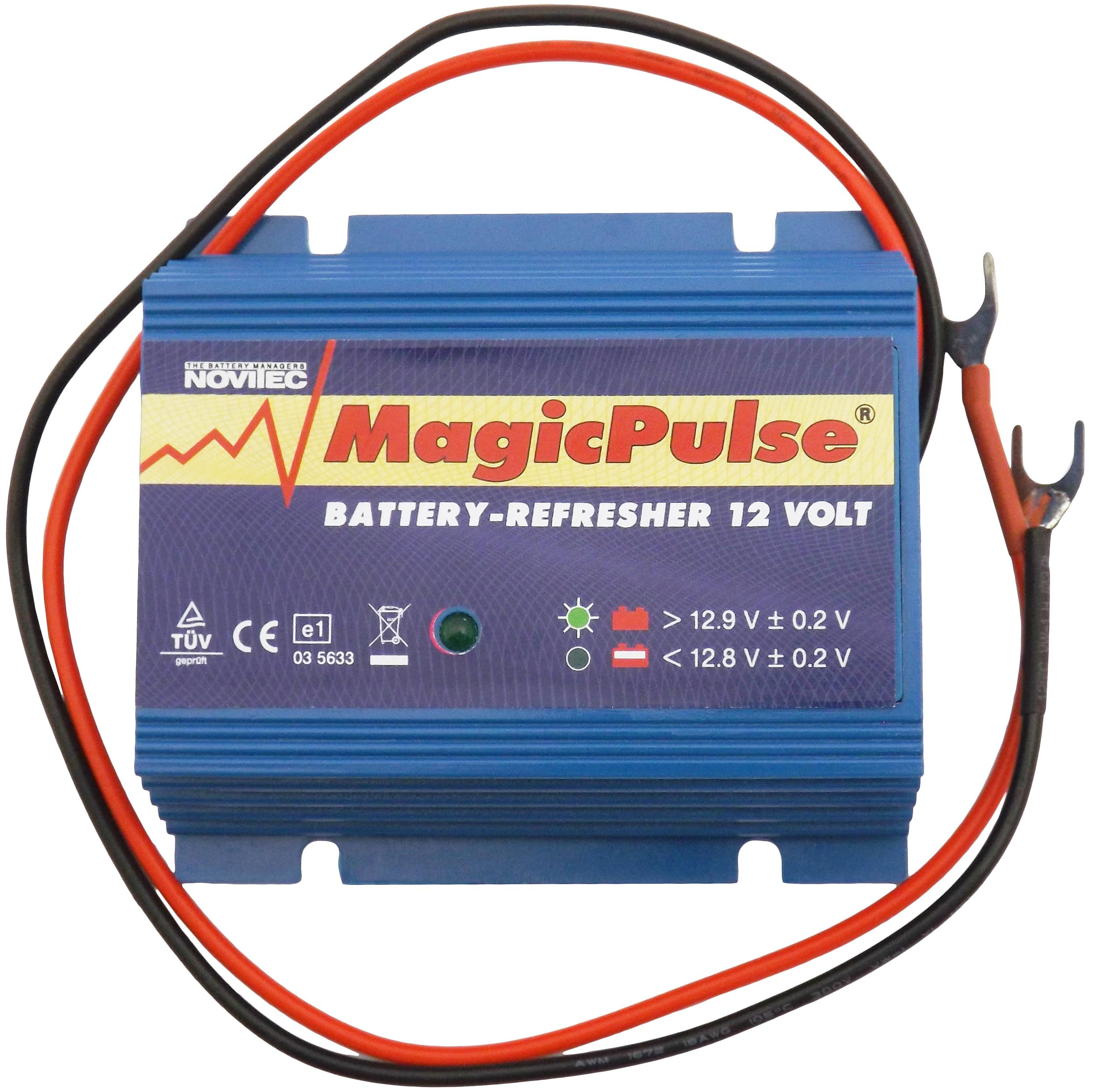 Magicpulse 12 Volt Battery Refresher Extend The Life Of Batteries Parallel On Wiring In Series Regenerate Your For Longer
