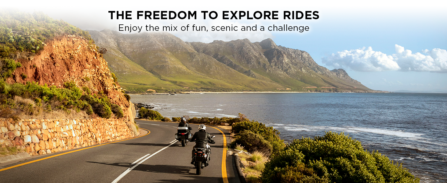 The freedom to explore rides
