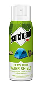 Heavy Duty, Water Shield, Scotchgard