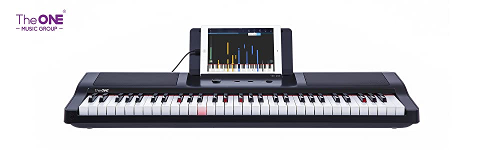 61 key light piano keyboard