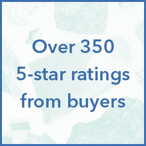 Over 350 5-star ratings from buyers