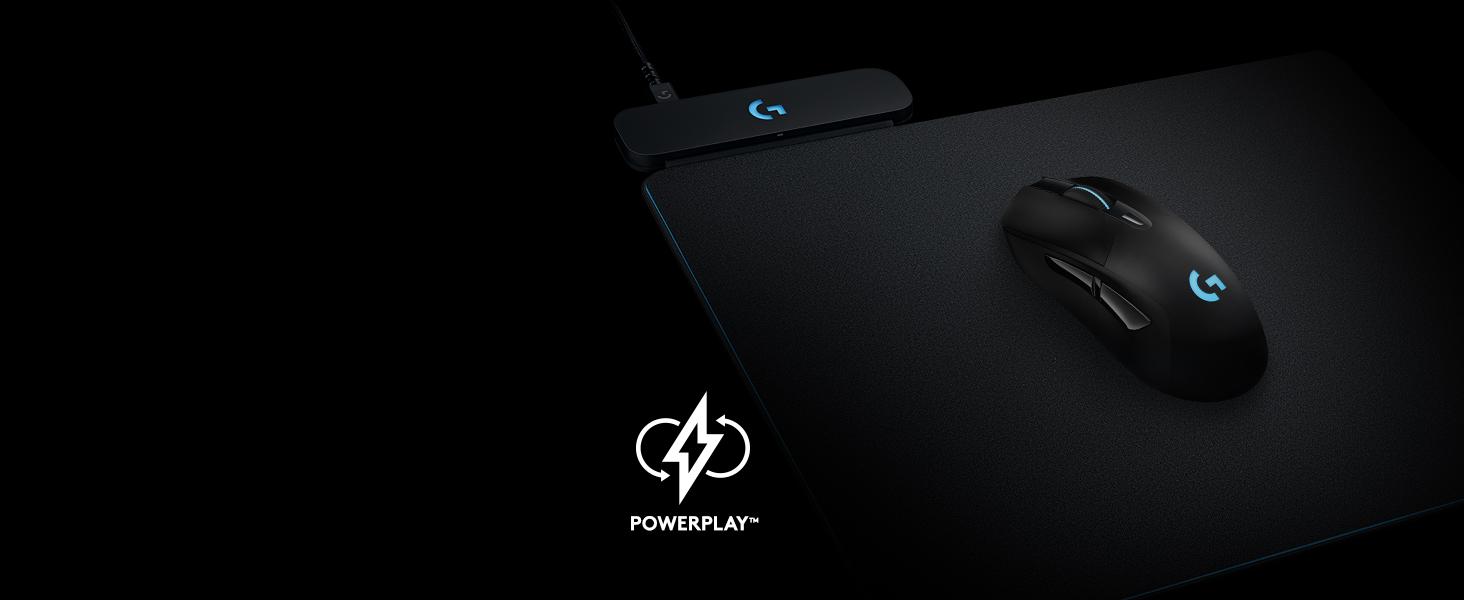 c1950f33018 Amazon.com: Logitech G703 Lightspeed Gaming Mouse with POWERPLAY ...