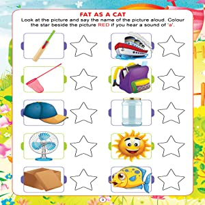 phonics, activity books, early learning, Dreamland Publications