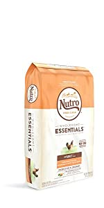 Nutro Wholesome Essentials Dry Dog Food, Hearty, Chicken, Beef, Fish