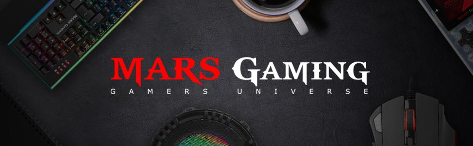 MARSGAMING MRK0, Teclado Gaming, RGB Rainbow, Antighosting, Layout Español