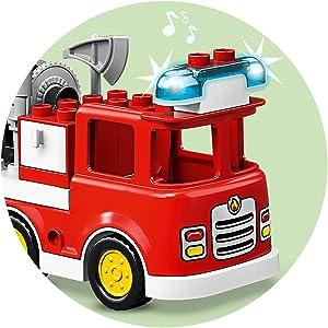 Camión de bomberos al rescate