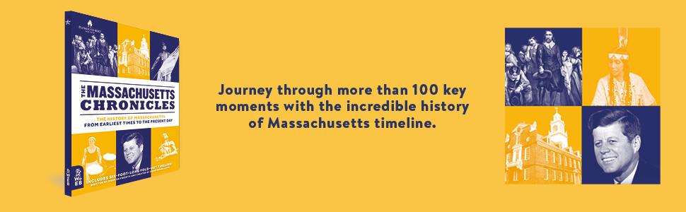 Massachusetts Chronicles key moments history timeline kennedy native americans pilgrims boston