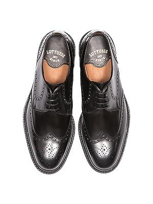 Lottusse, zapatos oxford hombre, brogue, trapado, zapato brogue