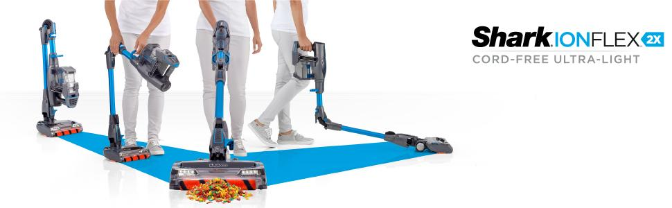 Shark Ionflex 2x Duoclean Cordless Ultra Light Vacuum