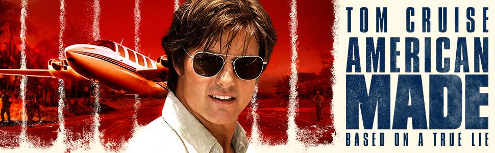 Tom Cruise, Lucy Seal, Barry Seal, American Made, Best Action Movie,Action New Release, Sarah Wright