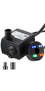 LED water pump
