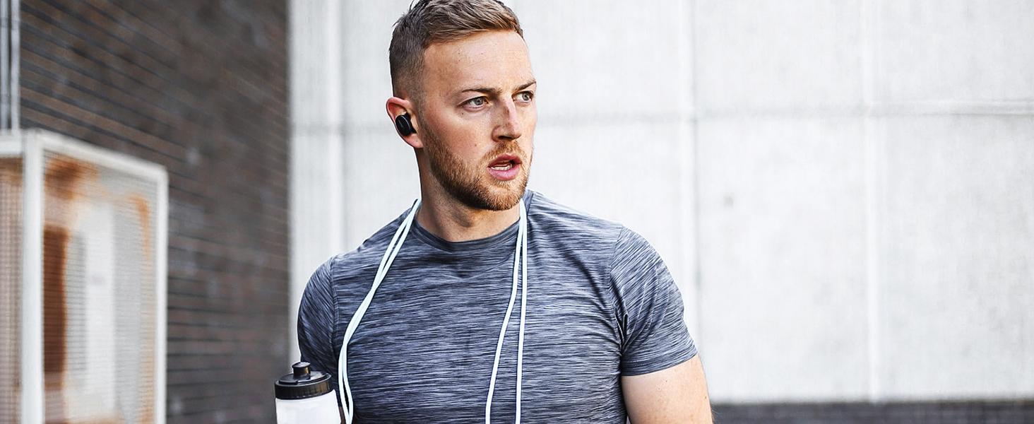 Audífonos deportivos inalámbricos, audífonos deportivos bluetooth, audífonos deportivos