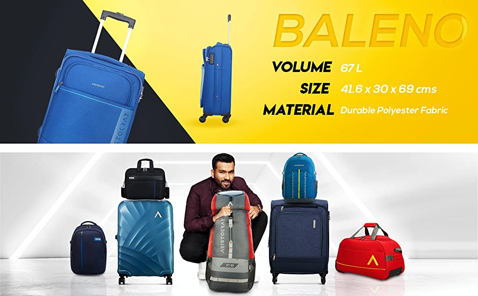 B07TPBDZ3D- BALENO 4W STROLLY (E) 69 BLUE SPN FOR-1