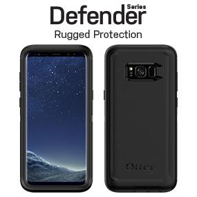 best website 94b1c 7de23 OtterBox DEFENDER SERIES SCREENLESS EDITION for Samsung Galaxy S8 - Retail  Packaging - BLACK