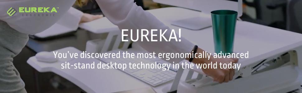 Amazon Com Eureka Ergonomic Height Adjustable Sit Stand