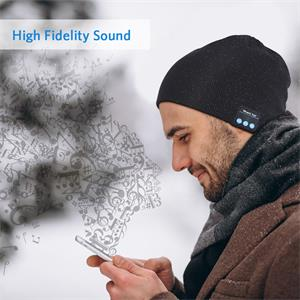 Mens gifts, gifts for men, Bluetooth beanie, Bluetooth hat, Christmas Gift