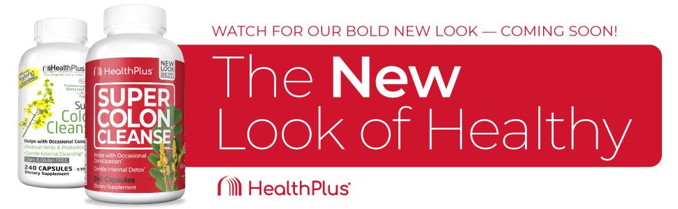 Health Plus Super colon Cleanse 240 Banner